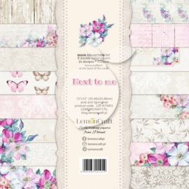 LZP-NTM01 -Set of scrapbooking papers - Next to me