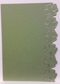 ROPP 100-6605-LPP Olijf groen pp met zilver opdruk