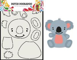 470.713.837 -Dutch Doobadoo Card Art Built up Koala A5
