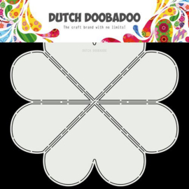 470.713.867 -Dutch Doobadoo Dutch Card Hart 30x30cm