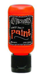 DYQ70559 - Ranger Dylusions Paint Flip Cap Bottle - Mango Punch