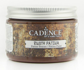 301272/0001-Rusty Patina verf- Brown-150 ml