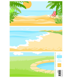 AK0077 - Eline's Holiday backgrounds-MarianneDesign