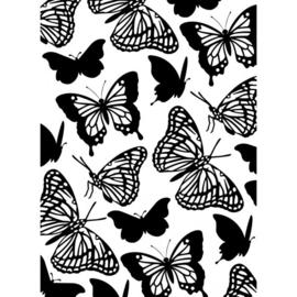 1219-104-Darice embossingfolder 10,8x14,6cm-Butterflies