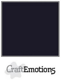 000230/1350-30x30cm-zwart glad karton-10 vel-Craft Emotions