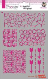 470.770.044 - Pronty Mask Pattern backgrounds