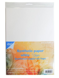 002415/0702-Joy! Crafts Synthetisch papier wit - A4