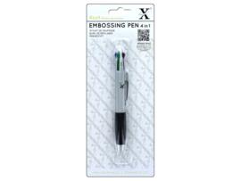 (XCU 268701)Xcut 4 In 1 Embossing Pen