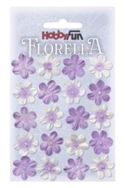 3866033-FLORELLA-Blüten lavendel, 2cm