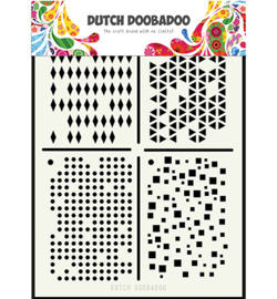 470.715.129 Dutch Doobadoo - Mask Art Multistencil