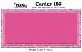 CLCZ183-Cardzz stansen no. 183, Slimline C