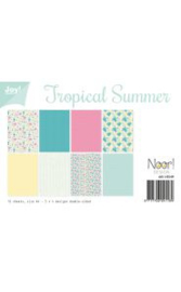 6011/0549 - Papierset - Tropical Summer