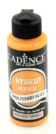 301200/0011 - Cadence Hybride acrylverf (semi mat) Lichtoranje