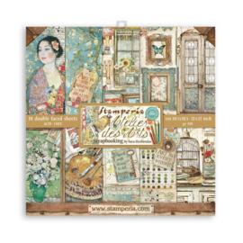 Stamperia Atelier des Arts 30.5x30.5cm Paper Pack (SBBL85)