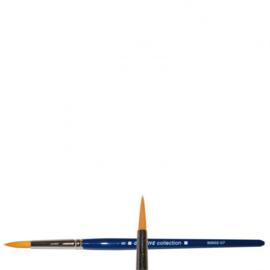 Vaessen Creative-penseel rond spits -polyesterhaar 602 #1