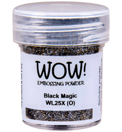 WL25X-Black Magic-Embossing Pulver-Colour Blends-15ml
