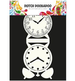 470.713.505-Dutch Card Art Clock