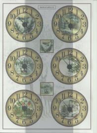 BOWOC 100-0012-KN klokken metalic knipvel
