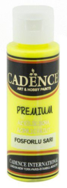 301220/0002-Cadence Premium acrylverf flouroscent geel 01 038 0002 0070 70 ml