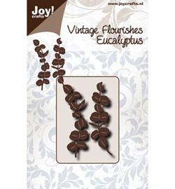 6003/0093-Noor - Vintage Flourishes - Eucalyptus