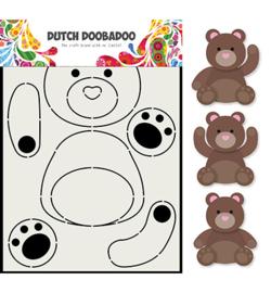 470.713.788 - Dutch Doobadoo Card Art Berenjacht-A5