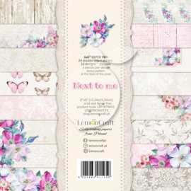 LZP-NTM02-paperpad Next to Me-15,24x15,24 cm-24 double-sided papers