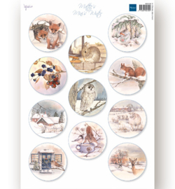 MB0186 - Decoupage - Mattie's Minies Winter