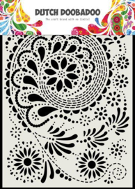 470.715.171-Dutch Doobadoo Dutch Mask Art- Paisley -A5