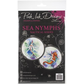 PI025-Creative Expressions • Pink ink A5 clear stamp sea nymphs