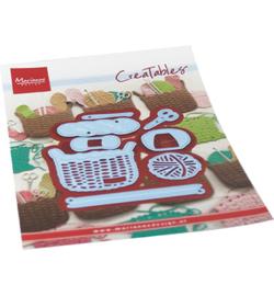 LR0689 - Creatable - Wool basket
