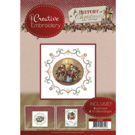 CB 10027 CREATIVE EMBROIDERY  AMY DESIGN HISTORY OF CHRISTMAS