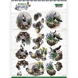 CD11471-3D cutting sheet - Amy Design - Botanical Spring - Lapwing