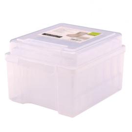1009-009-Opbergdoos  met 6  kleinere doosjes