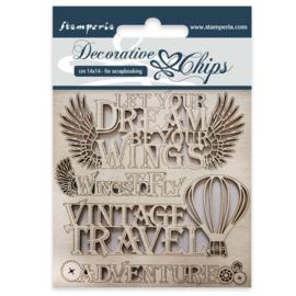 Stamperia Decorative Chips