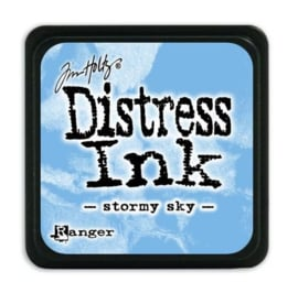 Ranger Distress Mini Ink pad - stormy sky TDP40217 Tim Holtz