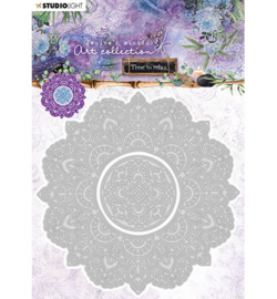 STENCILJMA12 - Studio Light - JMA Cutting Die Mandala Time to Relax 2.0
