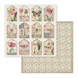 SBBL50-Stamperia Spring Botanic 12x12 Inch Paper Pack