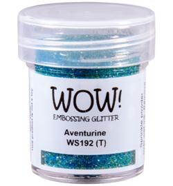 WS192R-Aventurine-Embossing Glitter-15ml