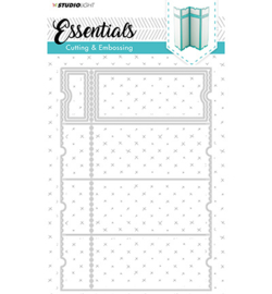STENCILSL169 - Cutting and Embossing Die Essentials nr.169