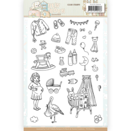 YCCS10064 - Clear Stamps - Yvonne Creations - Newborn