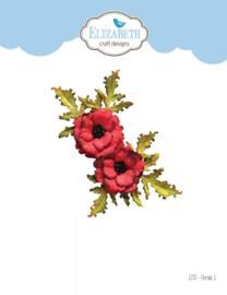 1773 - Elizabeth Craft Designs Florals 1