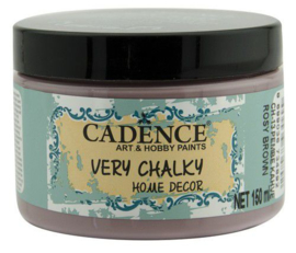 301260/0013 - Cadence Very Chalky Home Decor (ultra mat) Rosy - bruin
