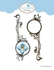 1780 - Elizabeth Craft Designs Elegant Ornament