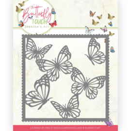 JAD 10118  DIES Jeanine's art Butterfly touch