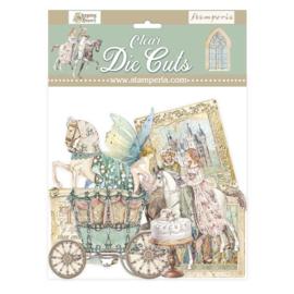 DFLDCP06 - Stamperia Sleeping Beauty Clear Die Cuts
