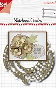 6002/1515 - Joy Crafts Notebook Circles