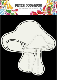470.713.691-Dutch Doobadoo Dutch Card paddestoelen 2 st -A5