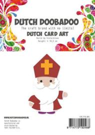 470.713.824 -Dutch Doobadoo Card Art Built up Sinterklaas A5