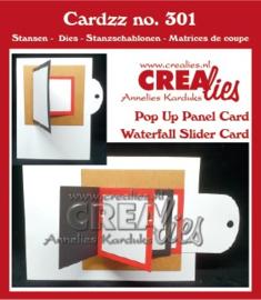 CLCZ301-waterfall card/pull tab flip card