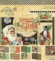 4502119-Graphic 45 Christmas Time 12x12 Inch Collection Pack